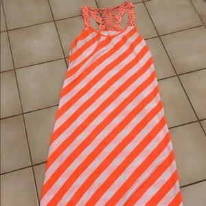 Long swimsuit cover up or casual dress!